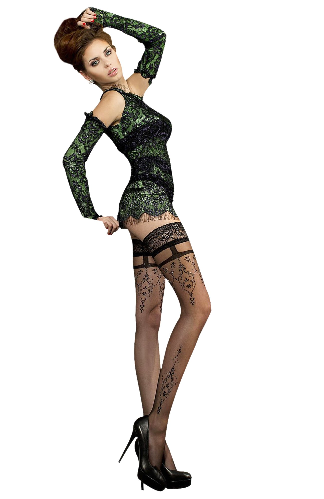 Studio Collants 212 Thigh Highs (S/M)