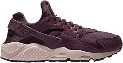 ala unos pocos A menudo hablado  Amazon.com | Nike Women's Air Huarache Burgundy Crush/Burgundy Crush  Leather Cross-Trainers Shoes | Road Running