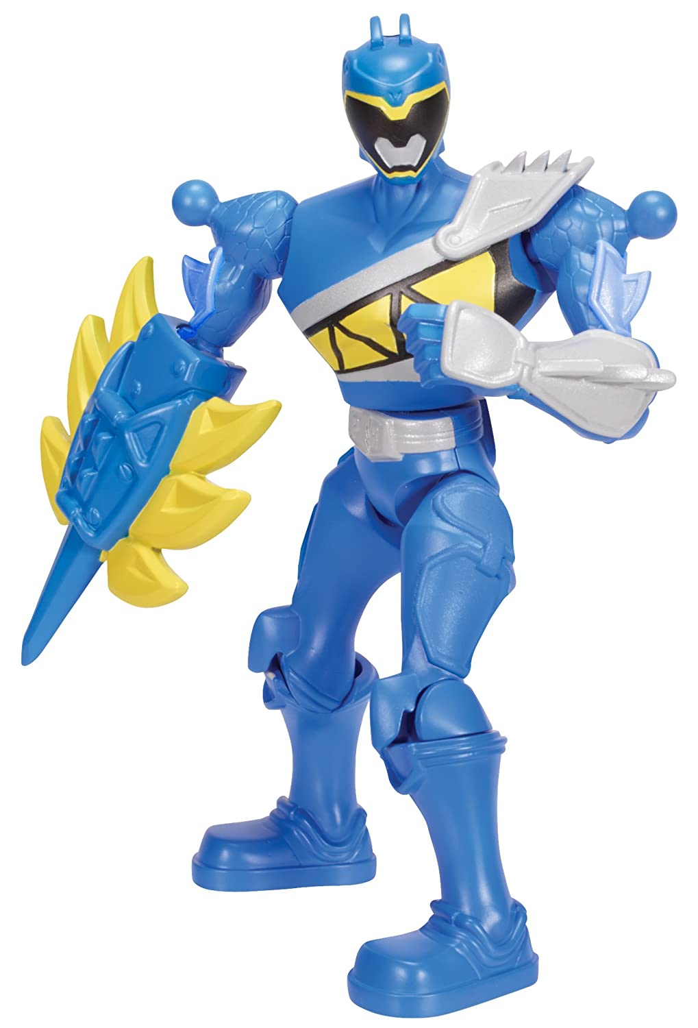 Power Rangers Dino Charge Mixx N Morph Dino Charge Blue Ranger Action Figure Bandai America Incorporated 42083