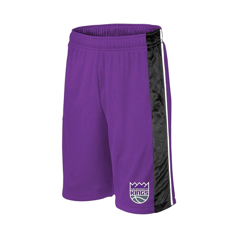 NBA Youth Birdseye Panel Active Short, Unisex - Kinder, nba youth apparel Navy/Gold/White X-Large Profile Fortune YBARSHTAM