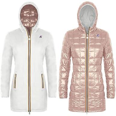 a1b29dcde36f K-Way - Blouson DENISE THERMO PLUS DOUBLE pour femme, manteau, tissu  extensible
