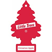 Little Trees Air Freshener Tree MTR0083 Cinnamon Apple Fragrance For Car Home Boat Caravan - Single Pack