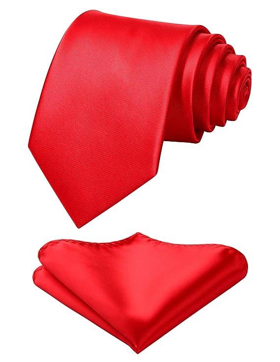 orbata de fiesta de color solido mas pañuelo de bolsillo - Multiples colores.