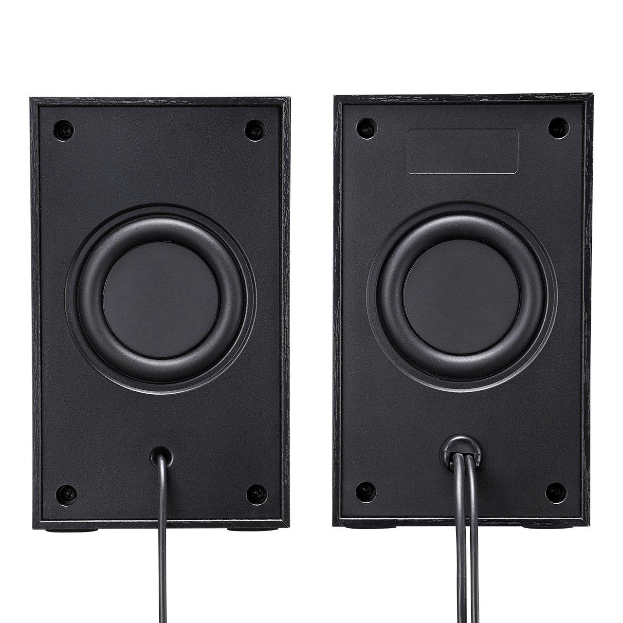 SANWA SUPPLY high-power USB speaker MM-SPU9BK (Black) by Sanwa (Image #9)