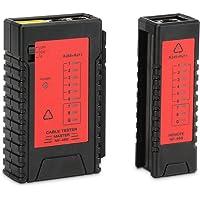 Incutex Network kabeltester RJ45 RJ11 patchkabel tester LAN netwerktester leidingstester Ethernet Network Cable Tester…