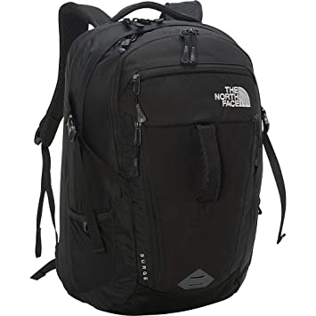 ad891c0af05e The North Face Women s Women s Surge TNF Black Backpack  Amazon.in   Computers   Accessories