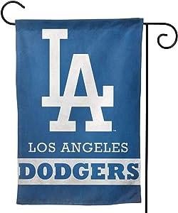 "Stockdale Los Angeles Dodger Garden Flag Durable Banner 12.5"" x18 for Mailbox Porch"