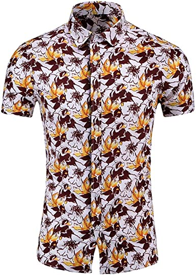 Luxury Tops Tee  Shirts  Sleeve Slim Fit Long Formal  Mens Lapel Casual