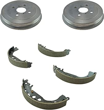 Stirling with 2 Years Manufacturer Warranty Both Left and Right 2014 For Mazda 2 Rear Drum Brake Shoes Set