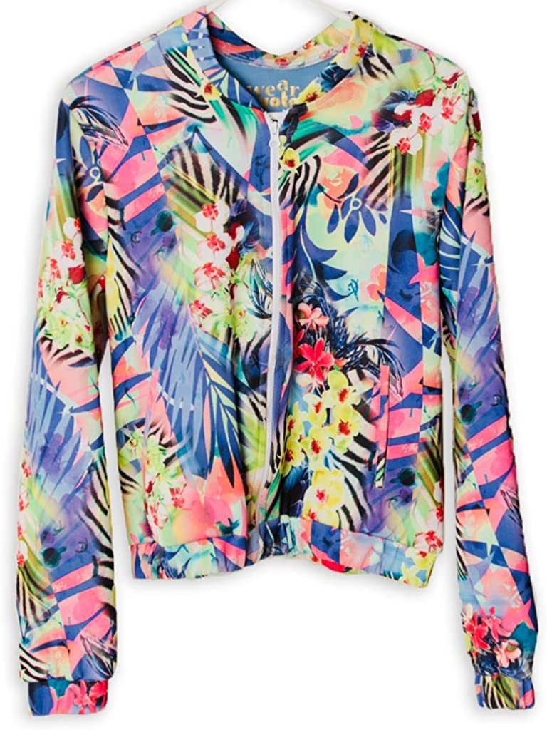 Tropical Show Off Bomber Jacket