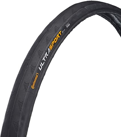 700cm x 25 Black Continental Ultra Sport II Bike Tire