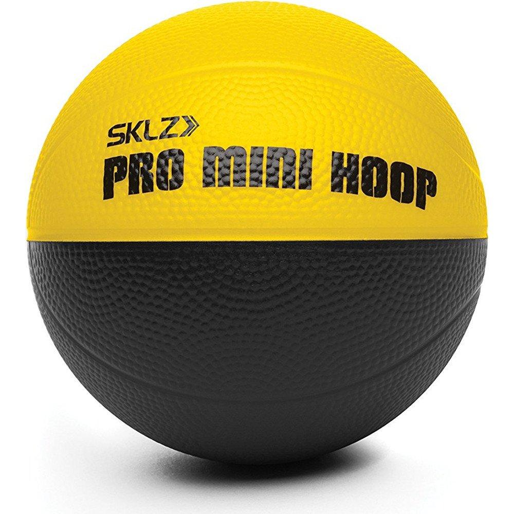 SKLZ Foam Micro Basketball PMH Micro Ball 4 Gelb-Schwarz one-size SPMH-MIC-BALL