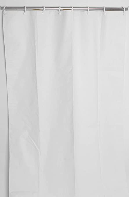 CSI Bathware CUR66x74NH 66 Inch X 74 Heavy Duty Commercial Shower Curtain