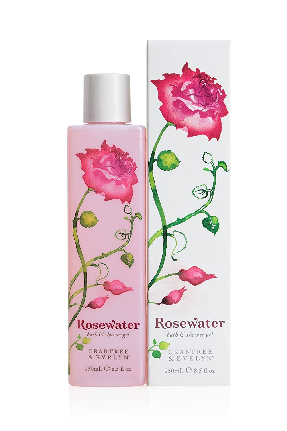 amazon com crabtree evelyn bath and shower gel rosewater 8 5 amazon com crabtree evelyn bath and shower gel rosewater 8 5 fl oz luxury beauty