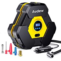 Deals on Audew Portable Air Compressor Tire Inflator with Gauge