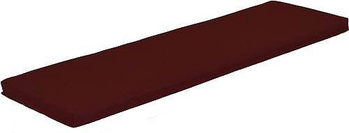 A L Furniture Sundown Agora 6 Cushion for Bench Or Porch Swing, 68 L 17 W 2 T, Burgundy