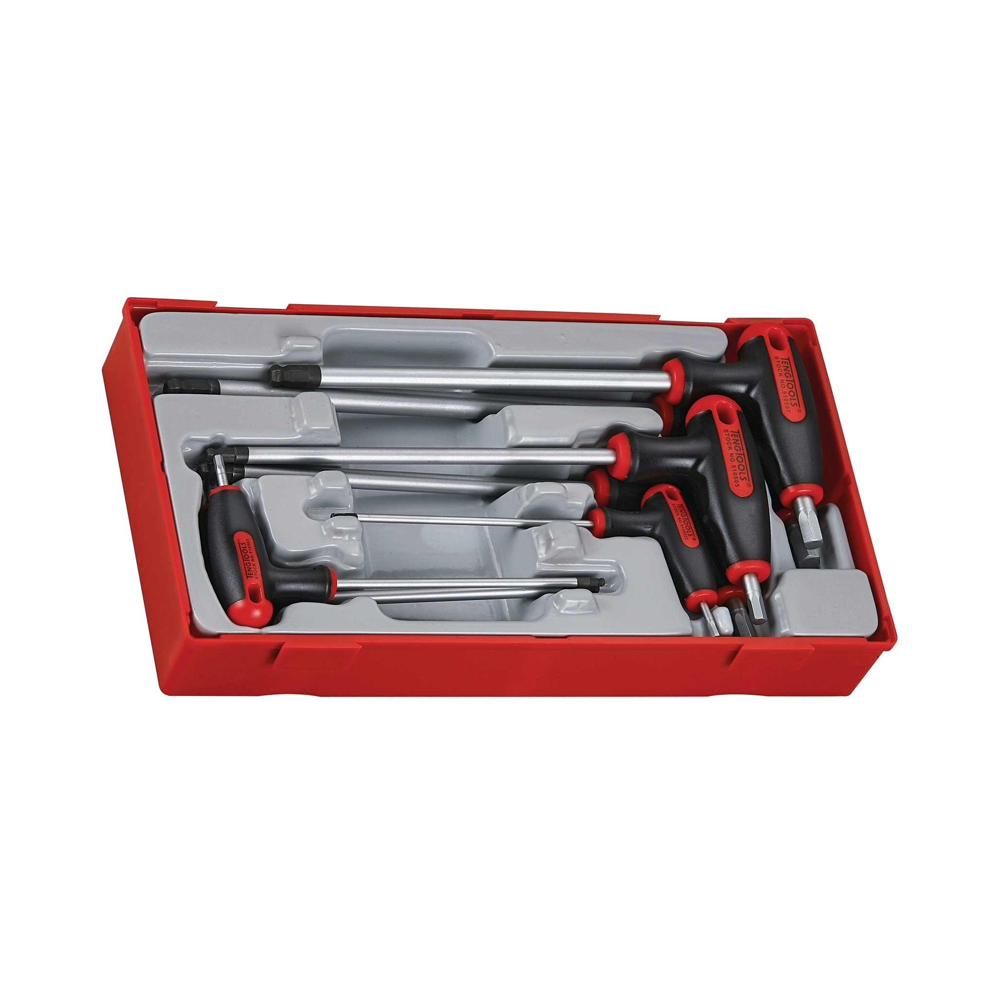Teng Tools 7 Piece T Handle Hex Key Set - TTHEX7