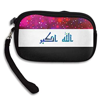 Amazon.com: Monedero de la bandera del Iraq Starry bandera ...