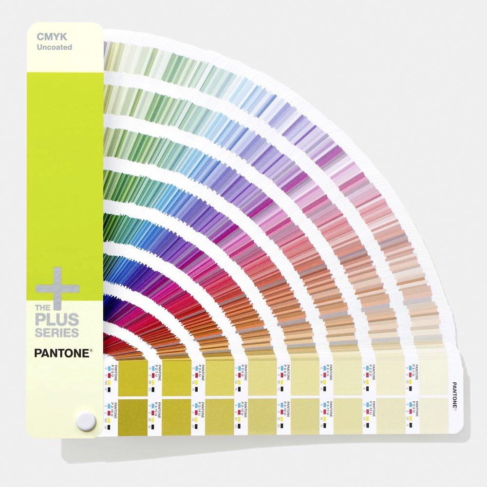 2019 Edition Pantone GP5101A CMYK Guide Set