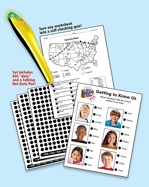 Workbook free phonics worksheets : Amazon.com: Educational Insights Hot Dots W/Power Pen: Office Products