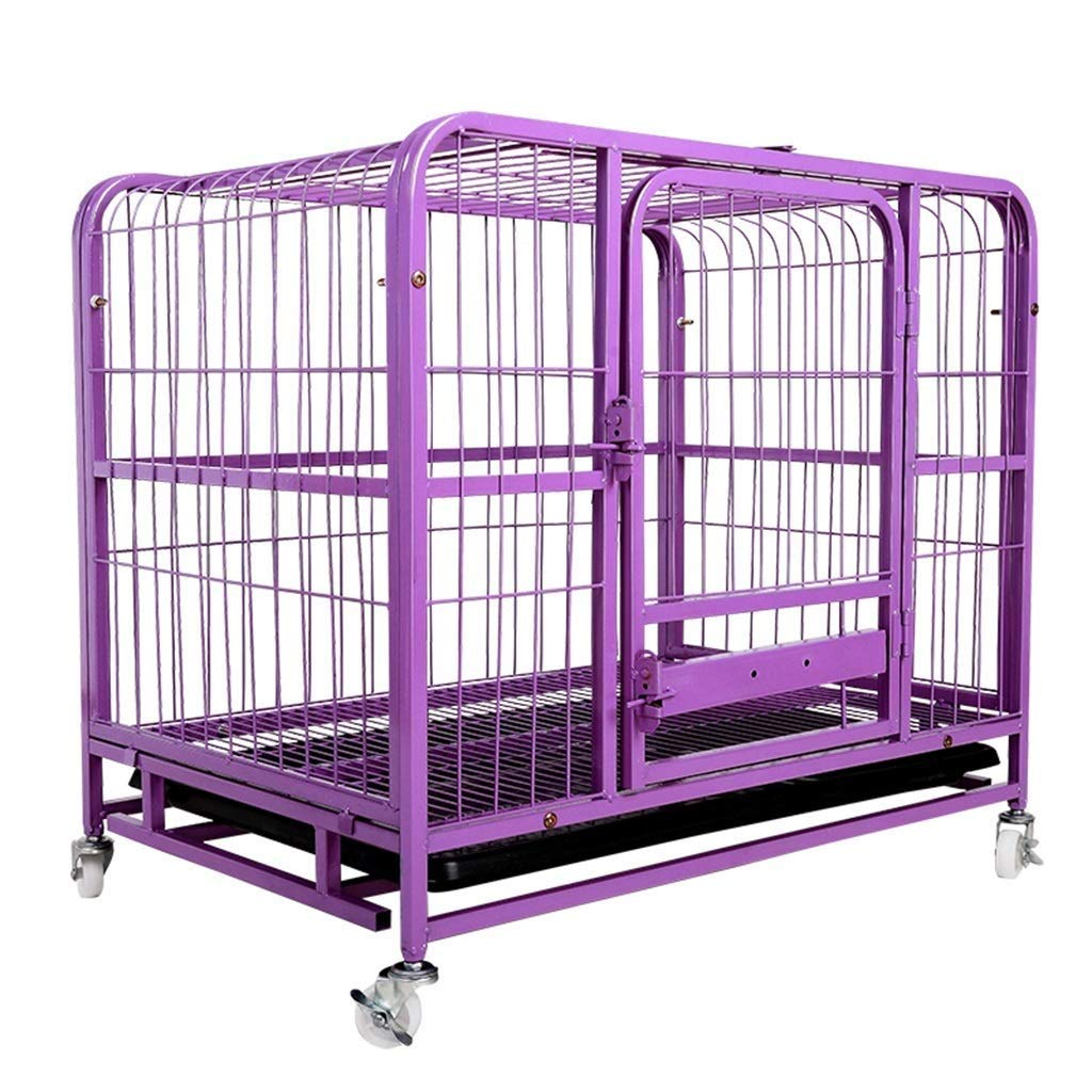 91×57×67cm WQEYMX Fence pet sports pen Pet dog pen puppy cat rabbit folding baby fence indoor outdoor shell running cage Puppy play pen (Size   91×57×67cm)