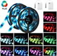 SOLMORE LED Strip Lights SOLMORE RGB Battery Operated Colour Changing 5050 SMD 2M Lighting Full Kit