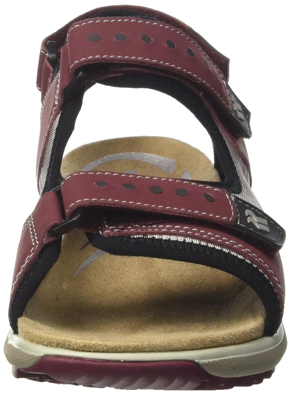 Romika Damen Olivia 02 Slingback Sandalen Sandalen Sandalen Rot (Aubergine) 5f7bfa