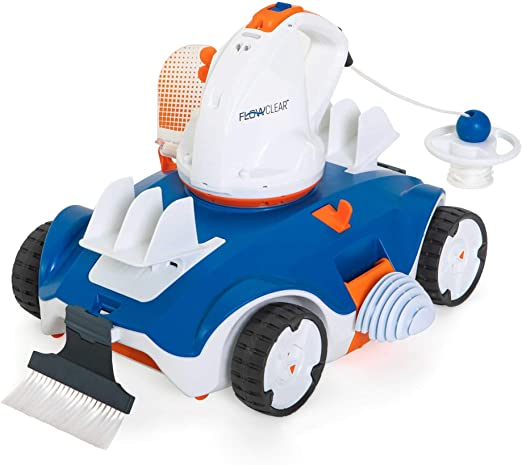 Robot Limpiafondos Automatico Para Piscinas A Bateria 90 Minutos ...