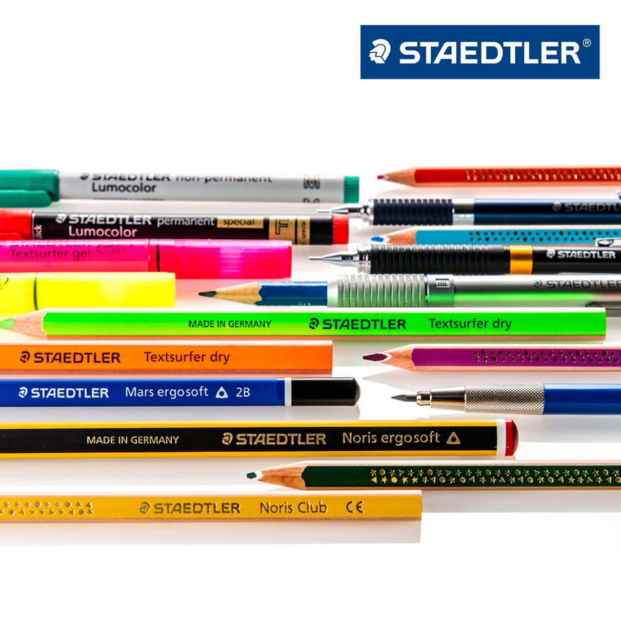 Staedtler Multi Function Avant Grade Cool Silver, Red Ink Ballpoint Pen Plus 0.5mm Mechanical Pencil (927AG-S) by Staedtler (Image #7)