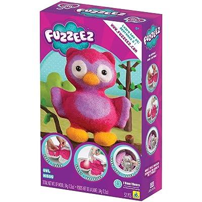 The Orb Factory Fuzzeez Owl: Toys & Games