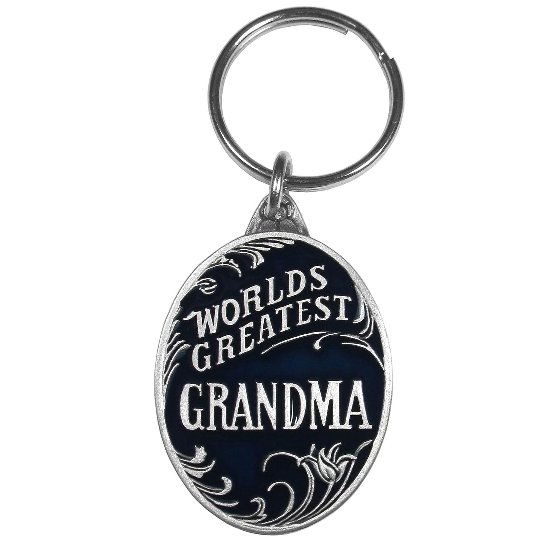 Siskiyou Worlds Greatest Grandpa Antiqued Metal Key Chain