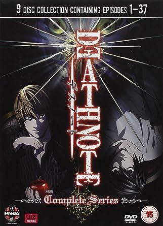 Death Note Complete Dvd AmazonCoUk Kappei Yamaguchi Mamoru