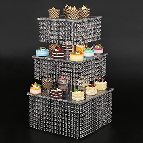 3 tier cupcake stand parties buffet supplies for a baby shower birthday party