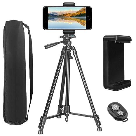 Profi Kamera Stativ Stand Halter für iPhone Smart Phone Samsung mit Tasche