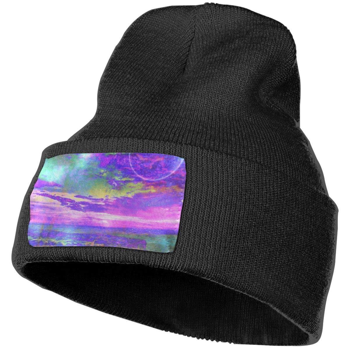 100/% Acrylic Acid Mas Beanie Hat Ruin Planet Fashion Knitting Hat for Men Women