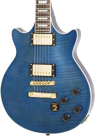 Epiphone eggnmsgh3 Genesis Deluxe Pro diseño guitarra eléctrica ...
