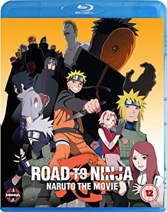 Naruto The Movie: Road To Ninja Blu-ray Reino Unido: Amazon ...