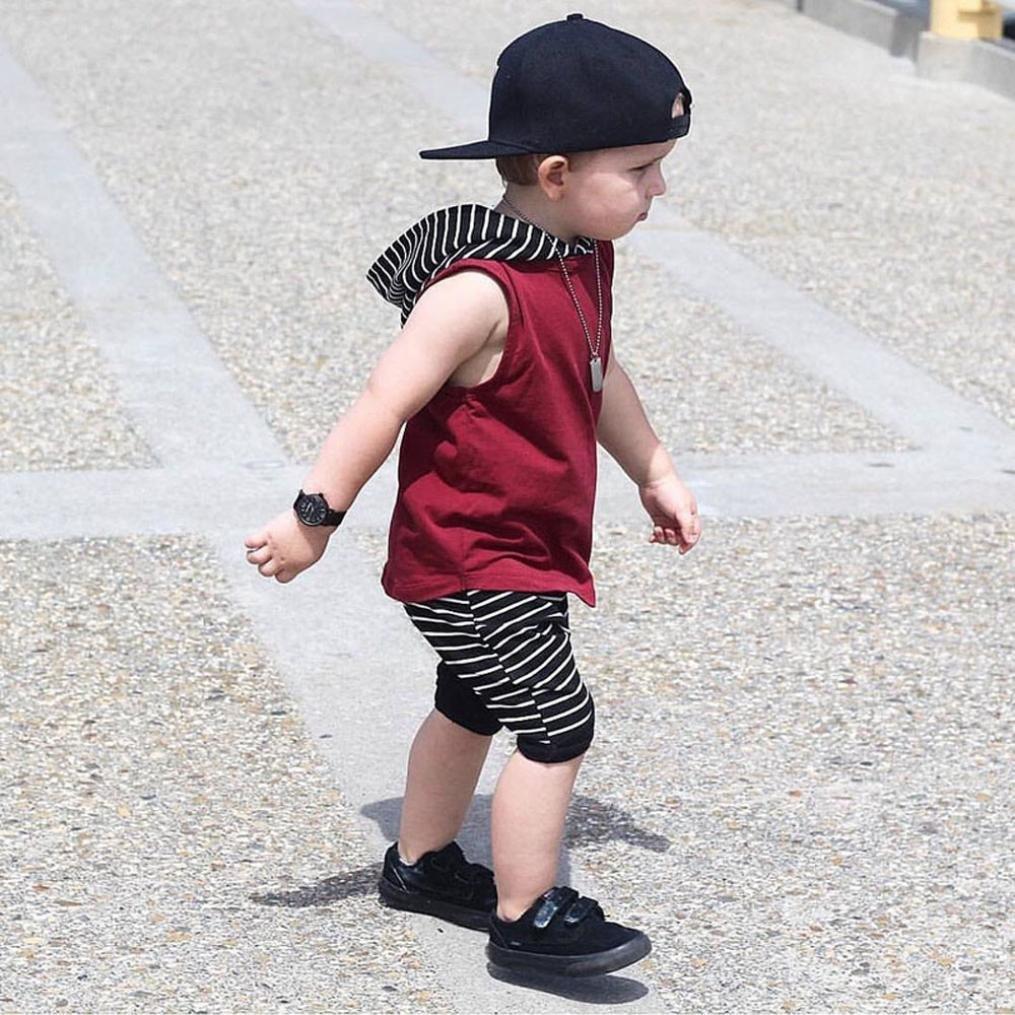 Oyedens Shorts Et Haut Ensemble Bebe Garcon Naissance Mode Enfant Vetement  B éb é Gar çon Ete Pas Cher ... 8c3193bfc7a