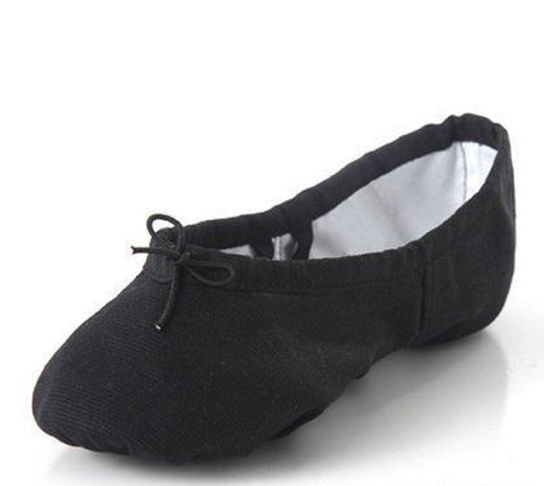 Tappers & Pointers - Zapatillas de danza para niña, color negro, talla 13 UK