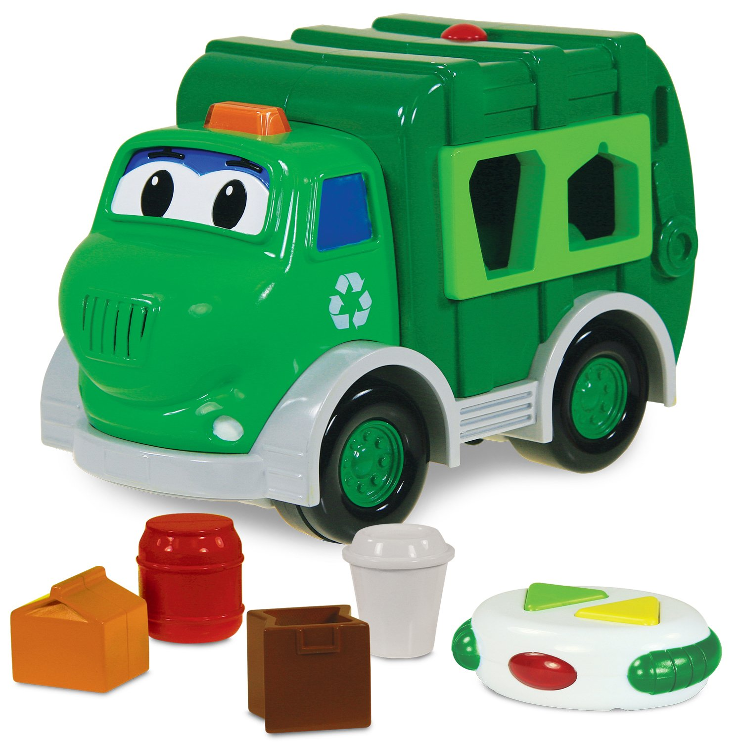 Earth Day recycling recycle toy truck for kids