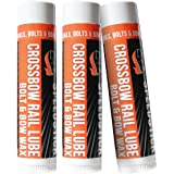 Dead Down Wind Bow Wax Rail Lube | 3 Pack | Unscented | Crossbow Hunting Accessories, Waterproof Archery Bow String Wax…