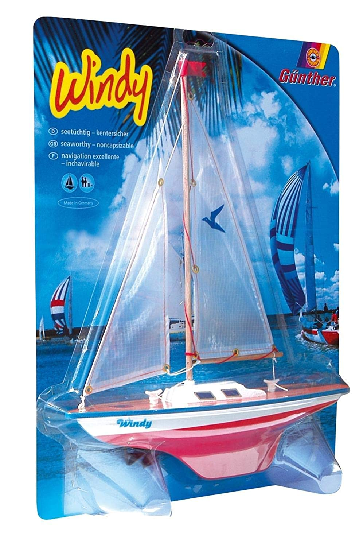 Windy Sailing Boat
