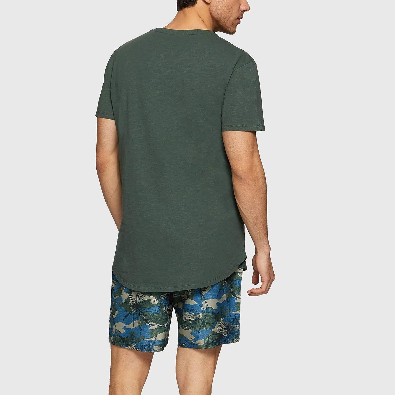 YAMAMAY/® Maxi t-Shirt Tinta Unita Uomo Passepartout