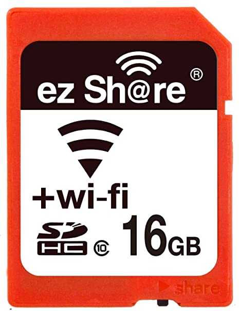 WiFi Sd Memory Card 16GB Class 10 New New Inc 2nd Generation Ez Share