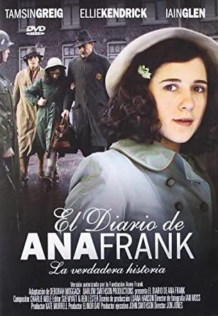 El Diario De Ana Frank The Diary Of Anne Frank Amazon Co Uk Dvd Blu Ray