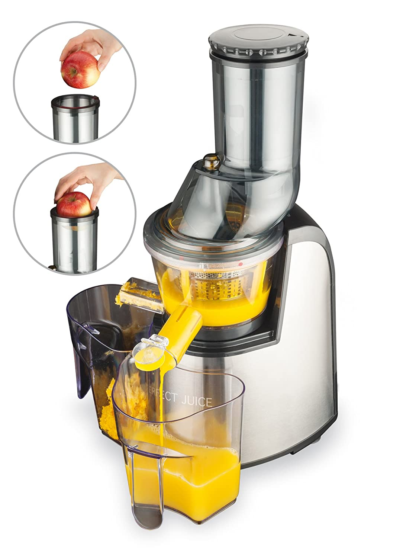 Macom 859 - Exprimidor (Exprimidor, Negro, Gris, 60 RPM, 1 L, 1 L ...