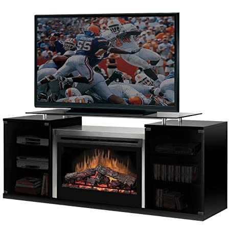 DIMPLEX Marana Media Console Log Electric Fireplace