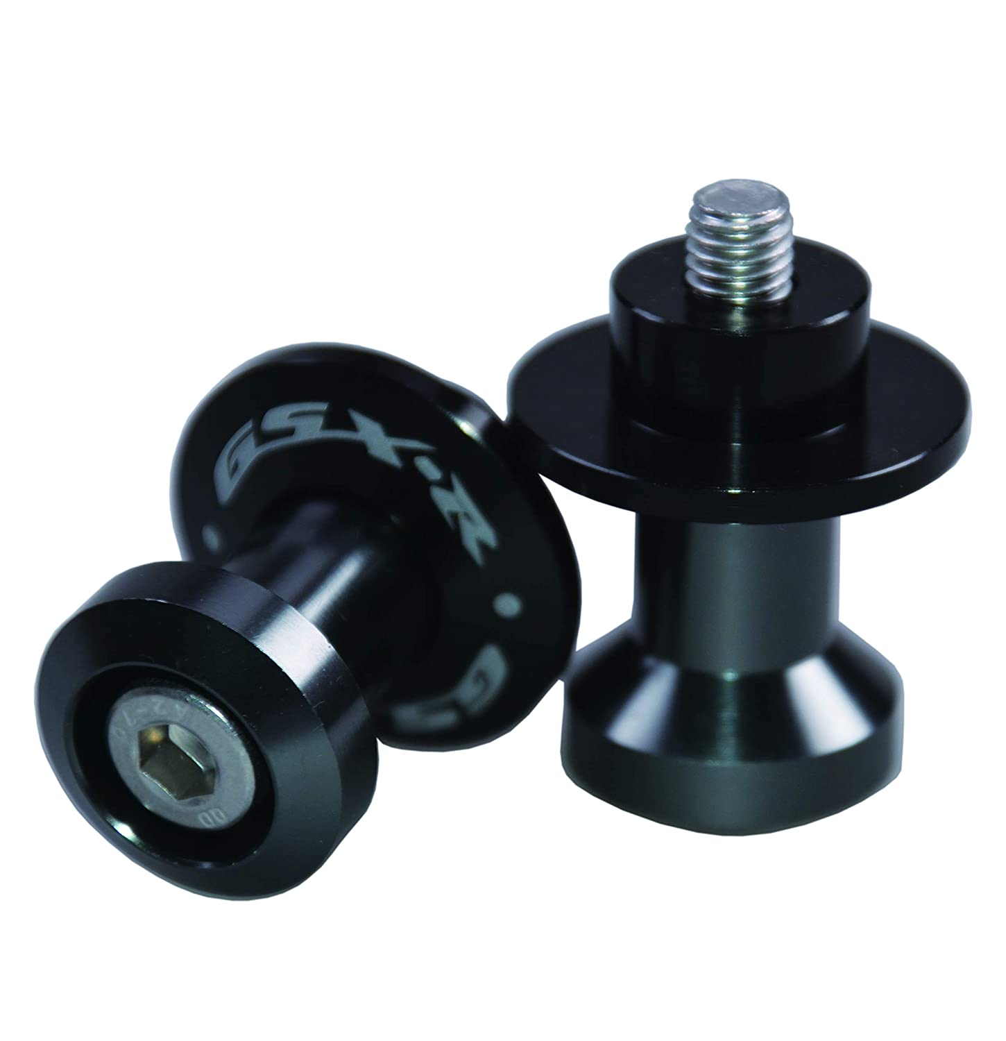 Red Paddock Stand Bobbins M8 Swing arm spool for GSXR 1000//600//750