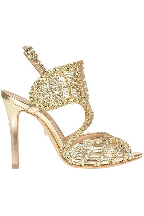 schutz sandali donna pelle oro ep917500