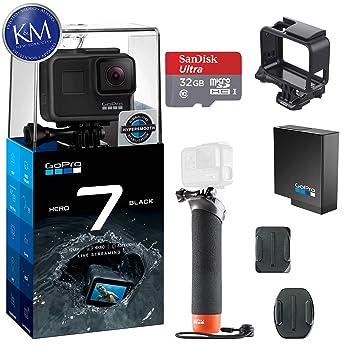 Amazon.com: GoPro Hero 7 (negro) cámara de acción con juego ...